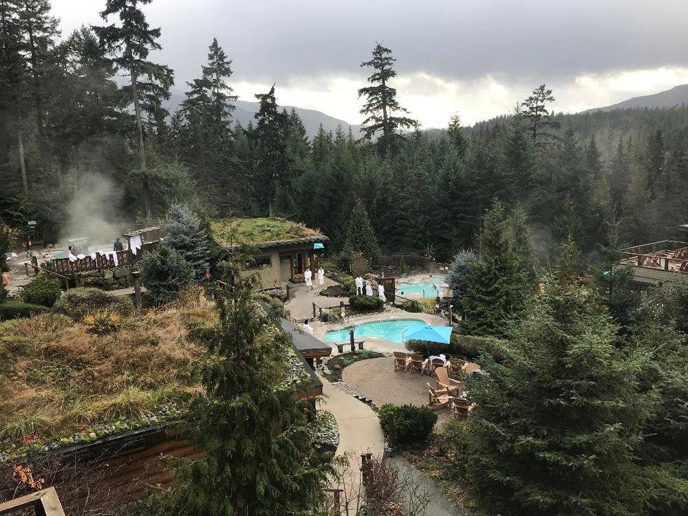 Scandinave Spa, Whistler BC