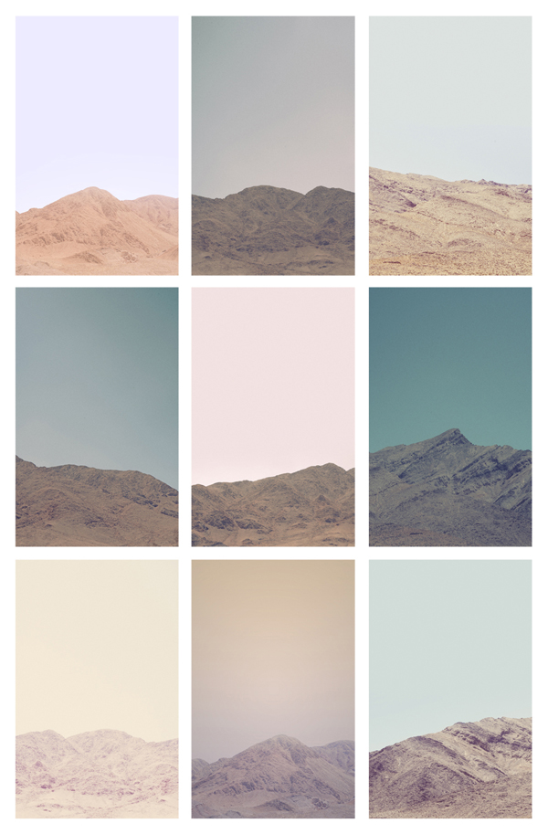 so looking forward to seeing some desert + some mountains this summer.     jennilee :      Untitled (Death Valley Hills & Mountains - Grid) -  Jordan Sullivan    24x36 inches   Edition of 25