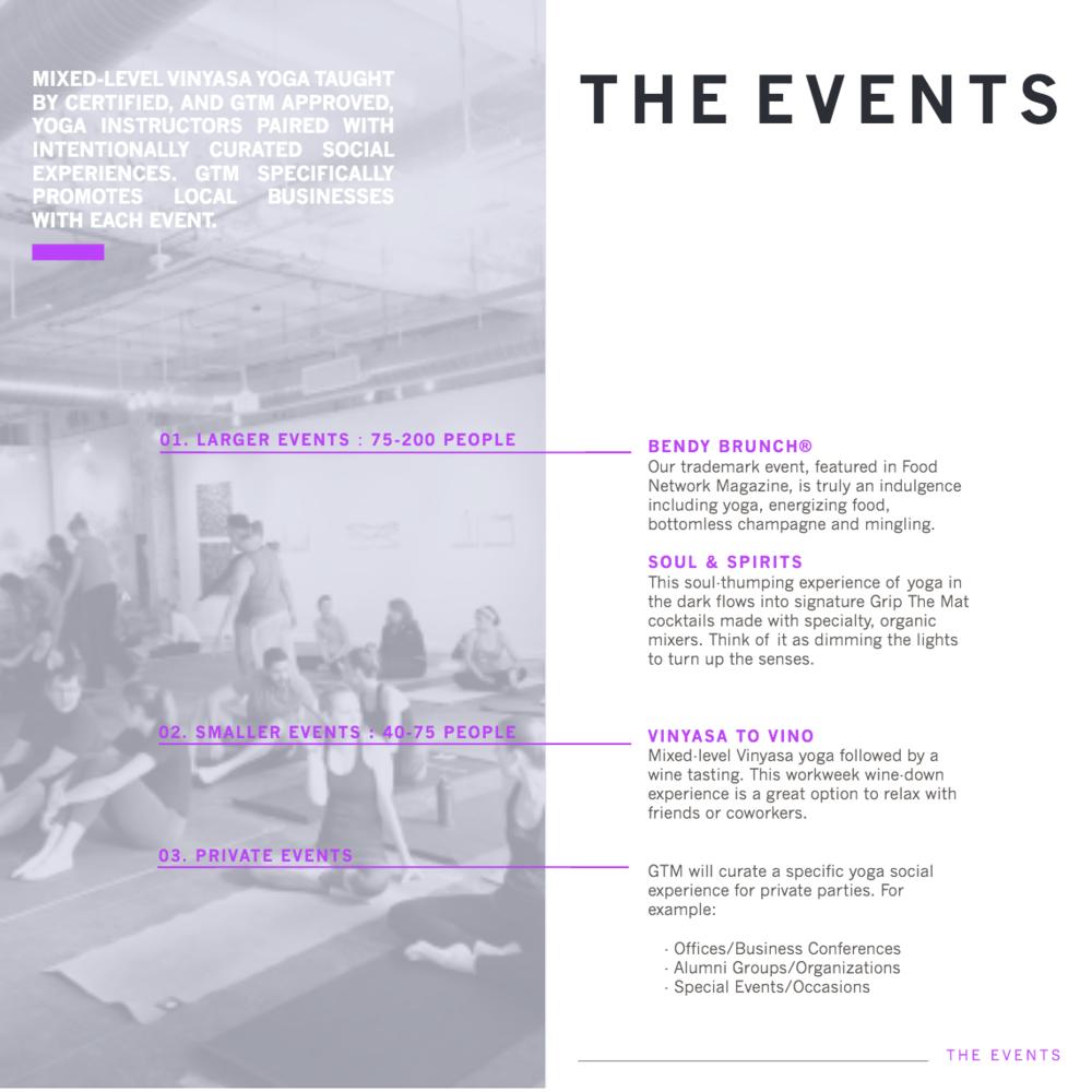 Decent Workshop - Grip The Mat presentation design