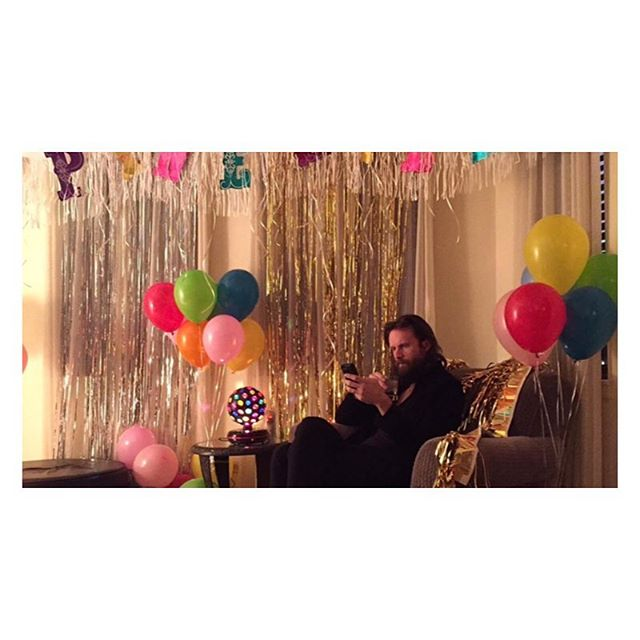 """can't get enough father john misty. he's played with some of our favorite bands/acts, and he hails from just outside our washington, dc homebase. his newest single """"real love baby"""" was one of the lucky 7s from our last newsletter-- another of our Tuesday traditions. #regram @fatherjohnmisty #fatherjohnmisty #reallovebaby #decentlucky7 #studiosoundtrack"""