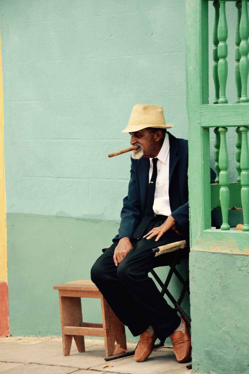 trinidad, cuba. cigars date back to 10th century south america.