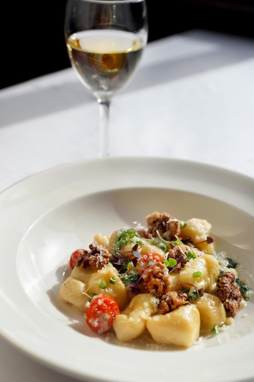 Gnocchi at Segreto Restaurant, Thredbo