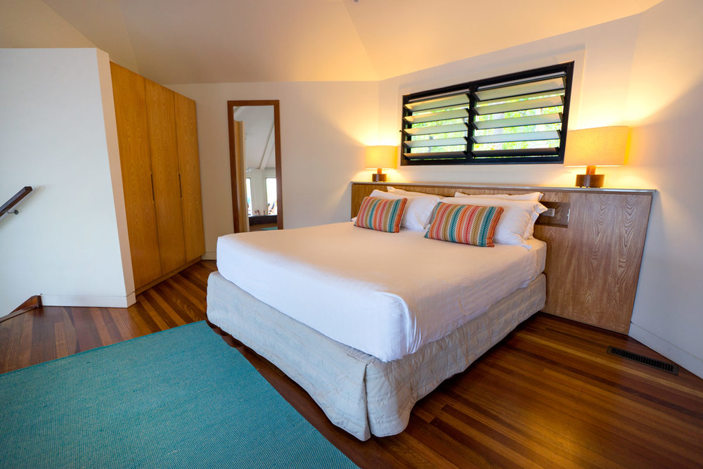 Bedroom in the Point Villa