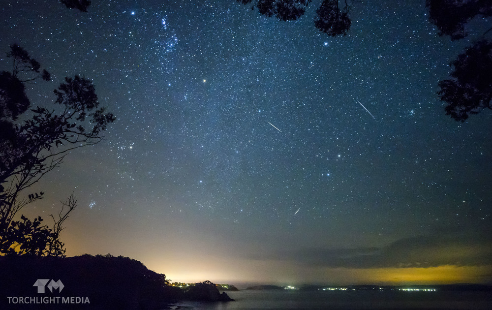 Meteor Shower, Lilli Pilli, NSW