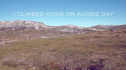I CLIMBED KOSIE ON AUSSIE DAY - PROMO – MT KOSCIUSZKO NSW
