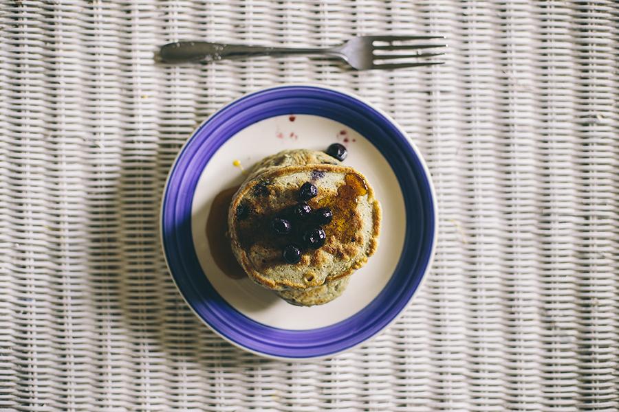 Flaxblueberrypancakes 6