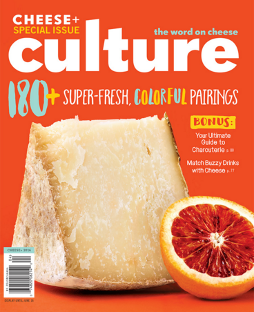 Garden Variety, Culture: The Word On Cheese, Summer 2016