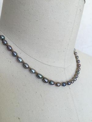 """Silver Pearl (17"""")"""