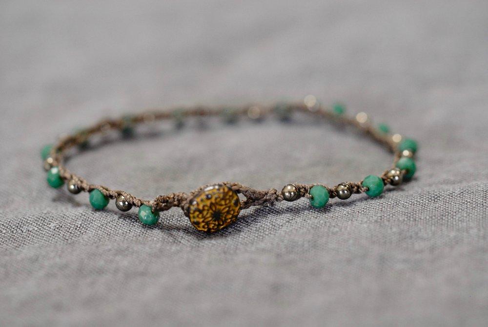 Small crocheted bracelets - singles