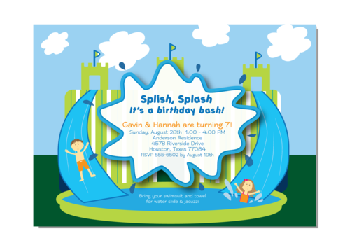 Splish Splash Castle Waterslide