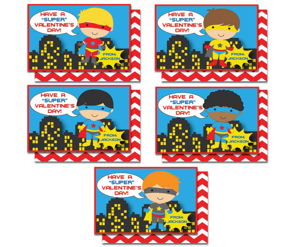 Easy Valentine Cards for Kids InvitationCelebration – Boy Valentines Cards