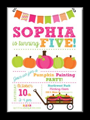 Painting Party Birthday Invitation from InvitationCelebration.com