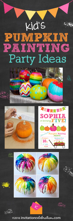 painting pumpkin birthday