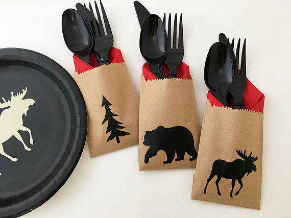 Cutlery Bags + more available in Etsy Shop:  Stesha Party