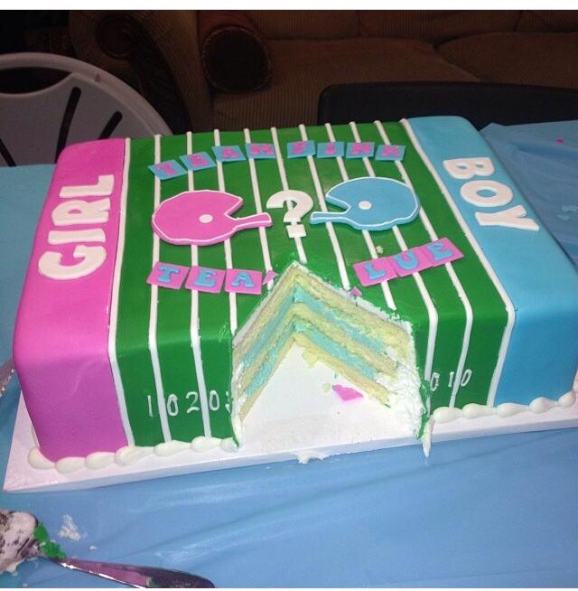 football gender reveal cake.jpg