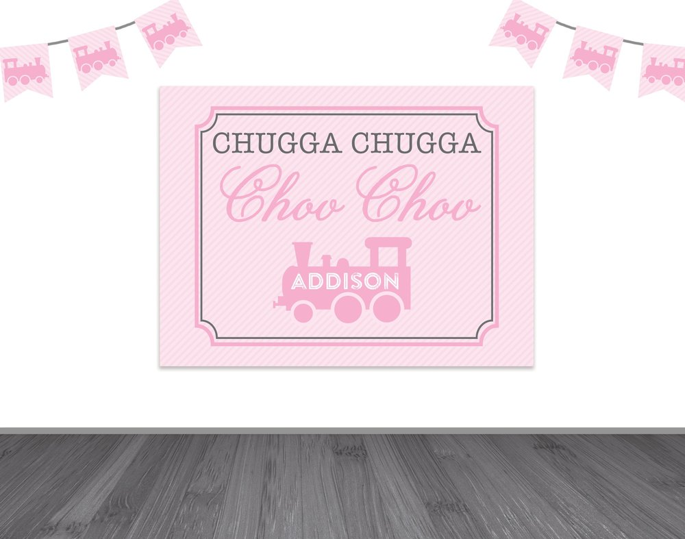 chugga chugga two two backdrop