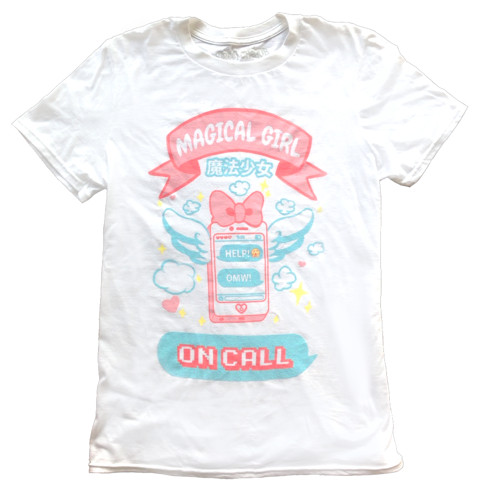 magical girl on call shirt png.png