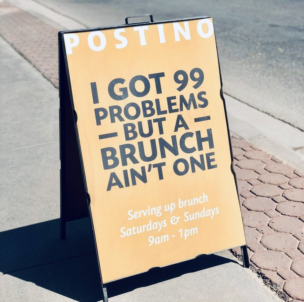 99 problems  - and #bRUNch aint one (unless you don't RSVP, then you're going to 100 problems).
