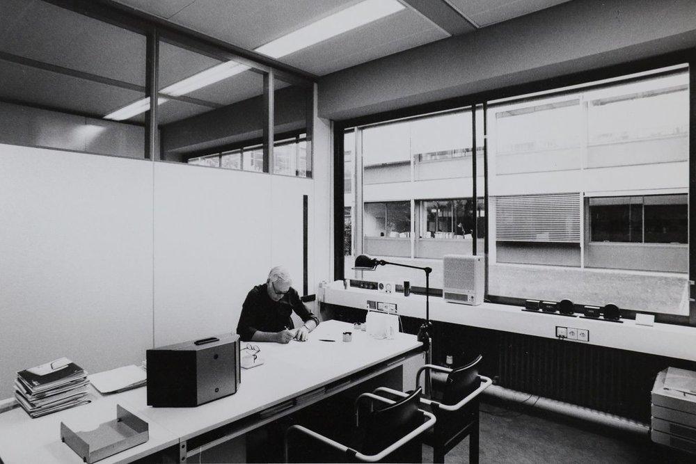 Rams at work at Braun, circa 1970s