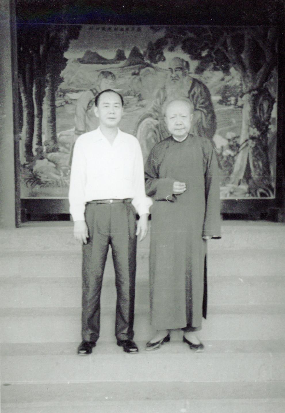 Master Gim Shek Ju on the left.