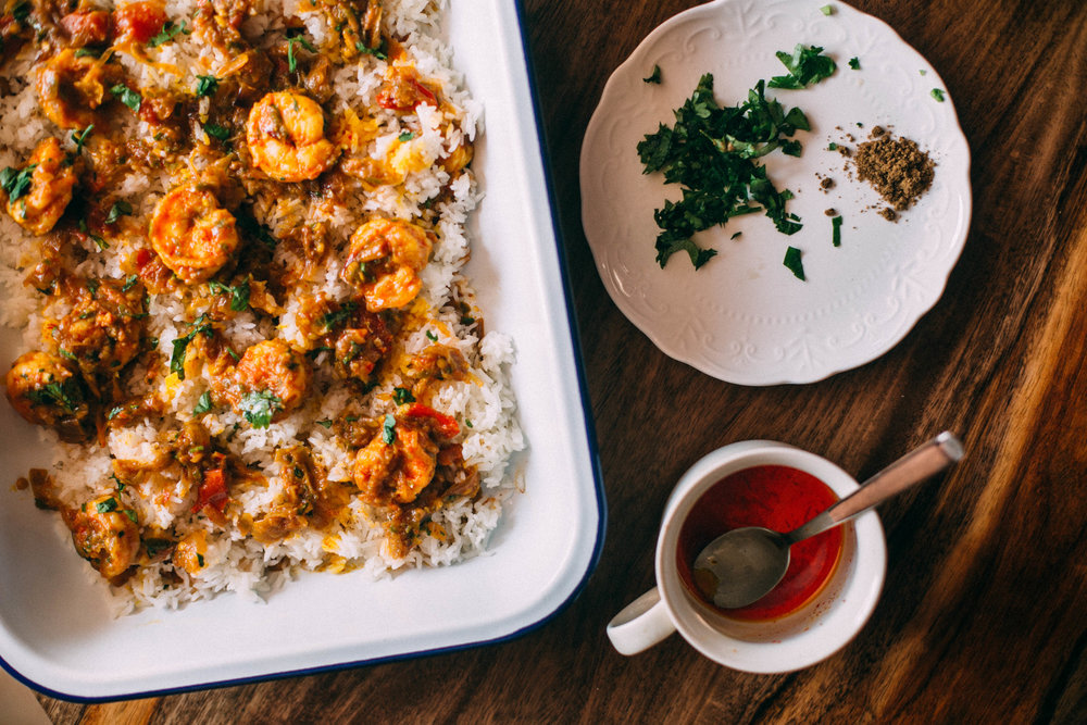 tellicherry prawn biryani recipe