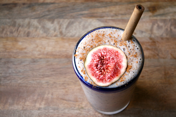 Fig, Vanilla & Cinnamon Smoothie