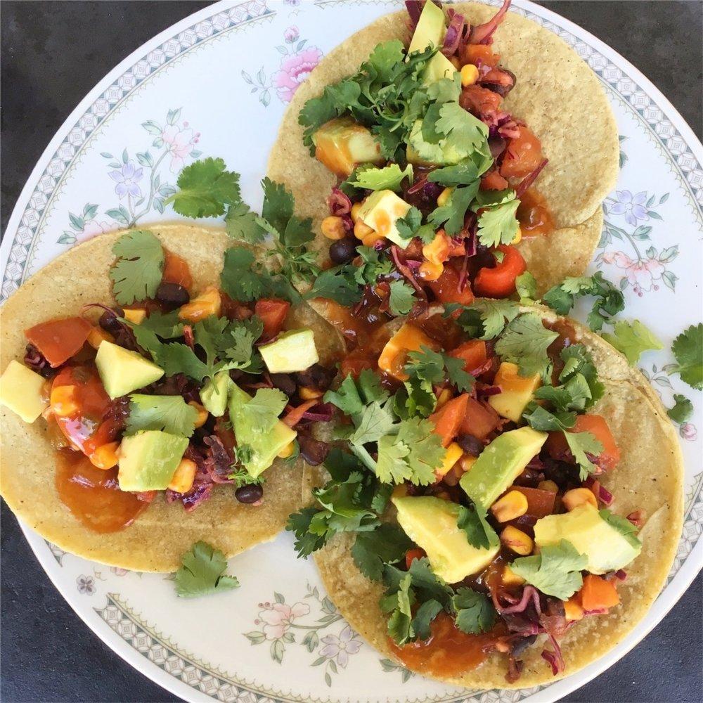 Mexi-Bean Tacos