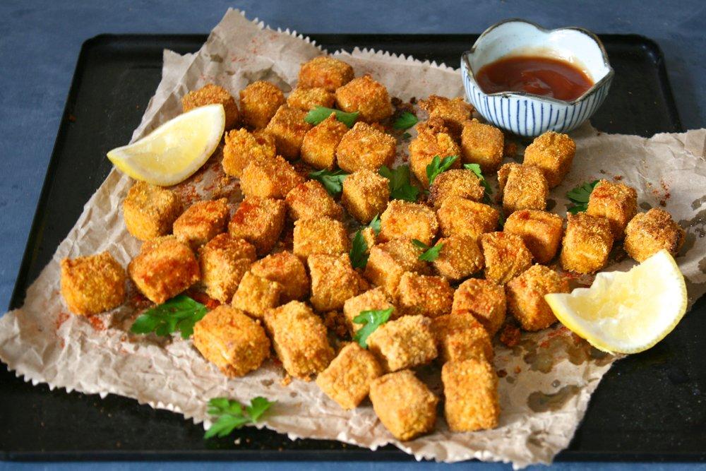 Popcorn tofu