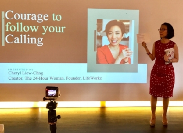 "Ms Cheryl Liew-Chng – author of ""The 24 Hour Woman"", giving us 3 questions to ask ourselves as we look forward to 2017."