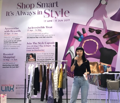 Savina Chai giving out style tips and latest trends for Spring Summer 2017.