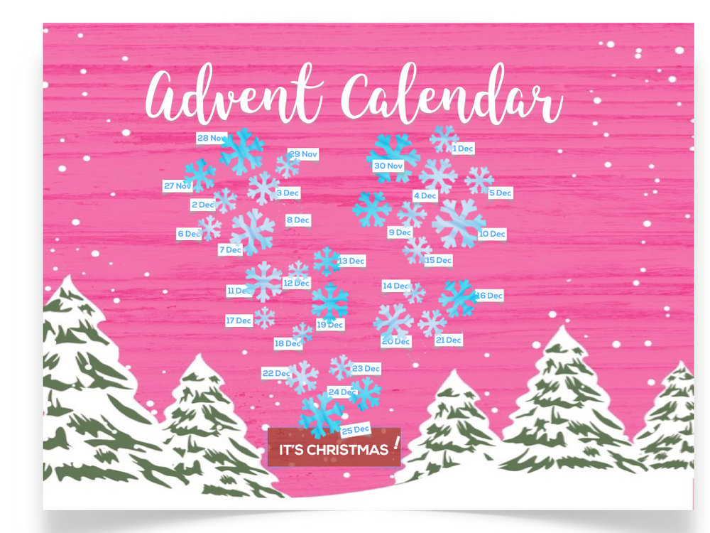 CLICK HERE FOR THE SWIF ADVENT CALENDAR