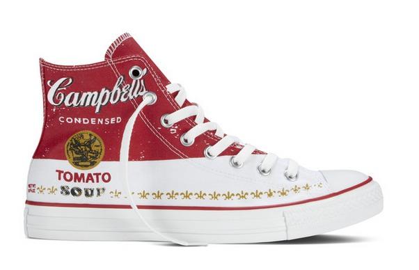 Converse vs Andy Warhol