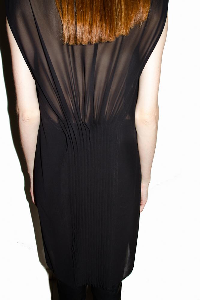 Прозрачное платье - топ.  Состав: 100% полиестер.  Цена: 11 250 руб.
