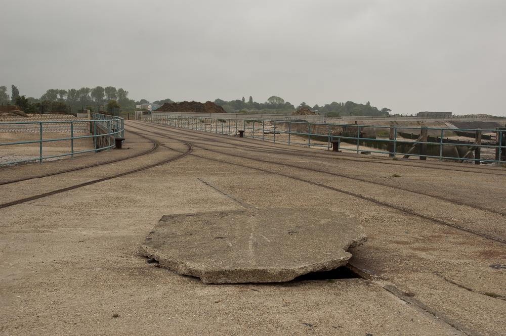 Garrison Pier 3, Shoeburyness,digital C-print, 2008