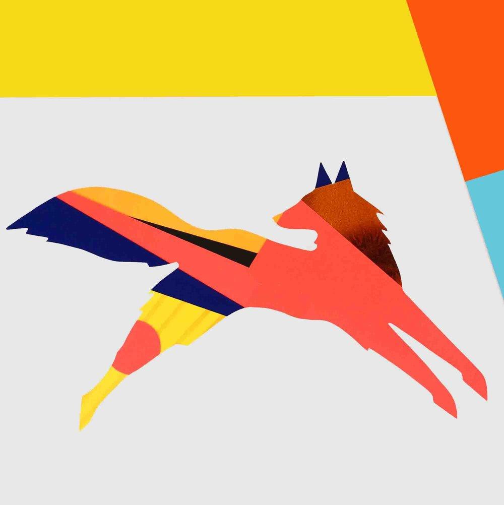 Colourful Fox
