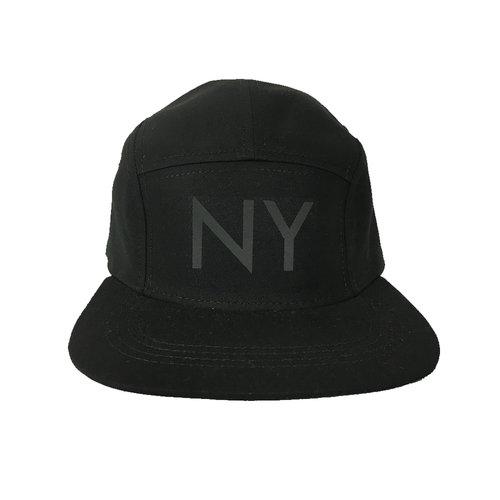 4aa2687faaa NY Hat Black 3M (Reflective). NY 3M BLACK.jpg