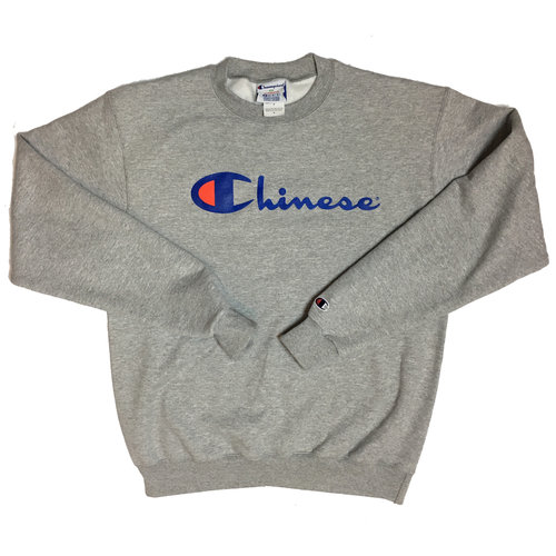 3deb4f19bb77 Chinese Champion Crew Neck — You Love Poon