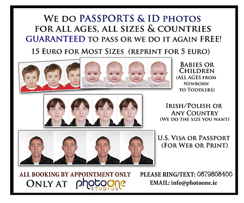 All Passports All Ages, All Sizes NO PROBLEM Ring for Appoinment