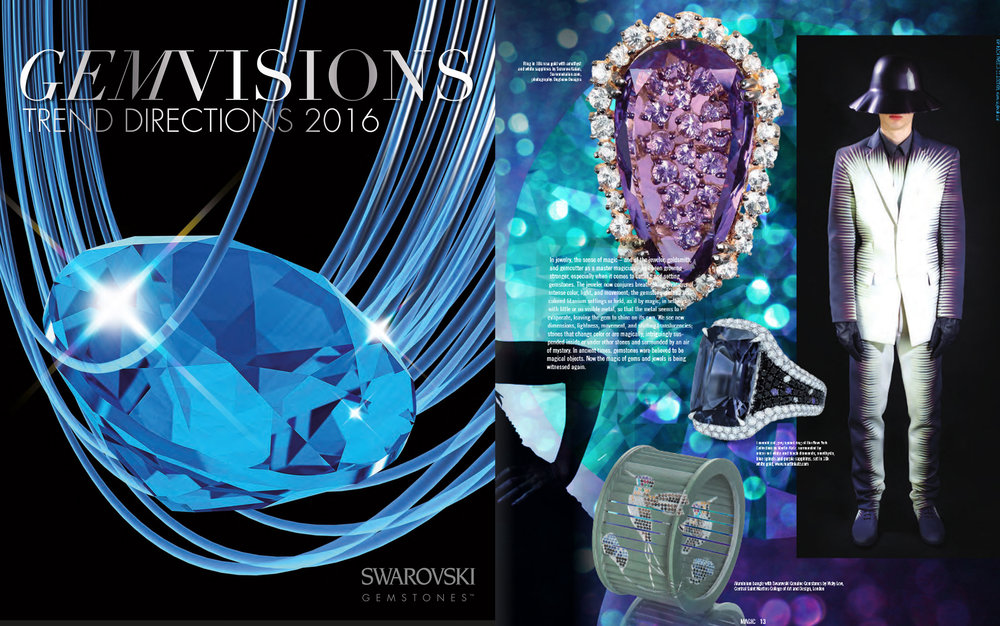 SWAROVSKI GEMVISIONS 2016     April 2016