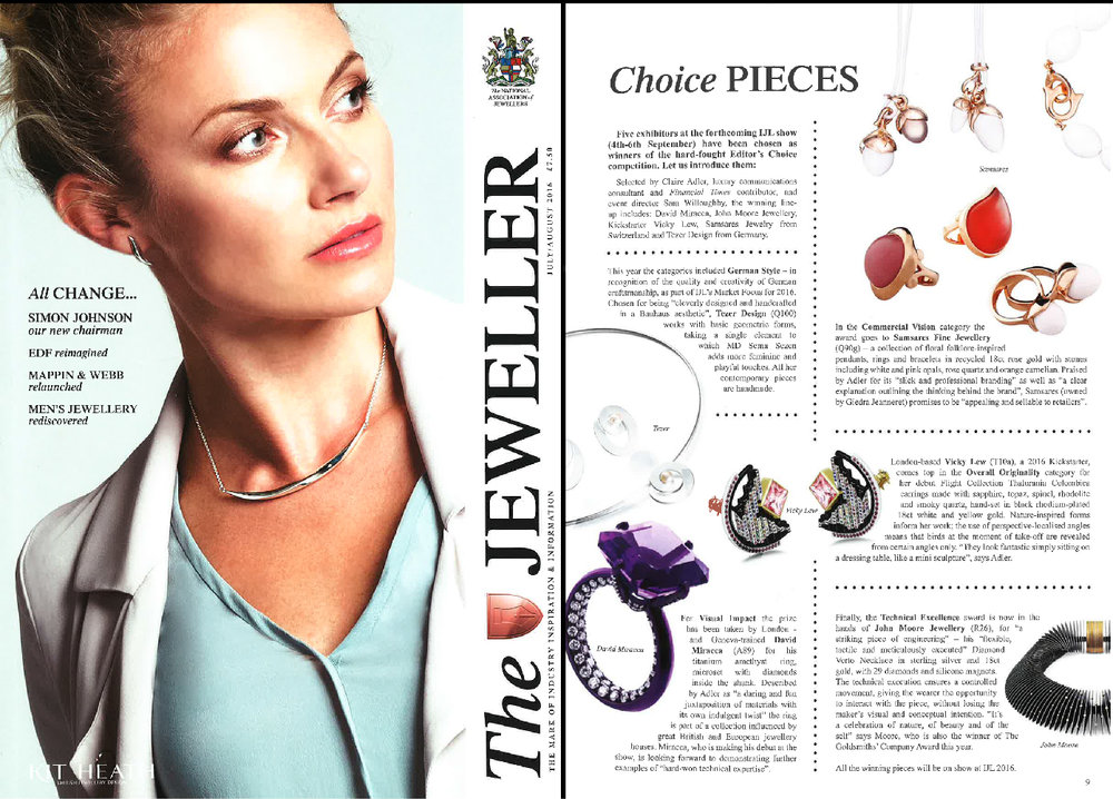 THE JEWELLER     July 2016