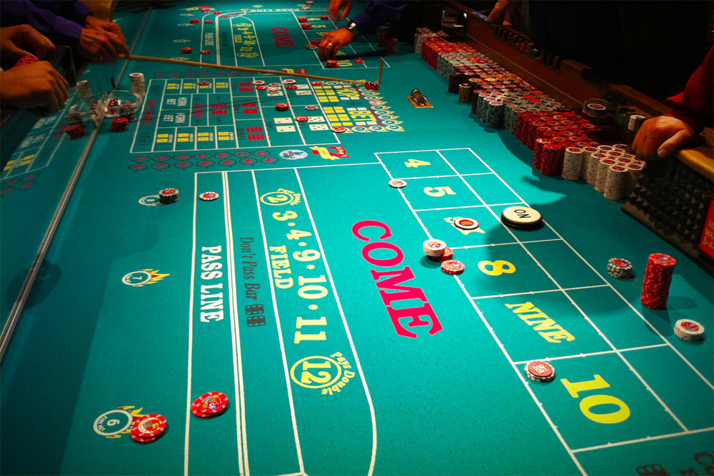 Craps: Just like health insurance, but a lot more fun.