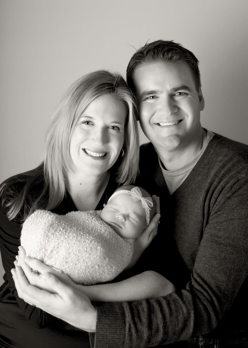 Jon and Suzette with their new baby girl.