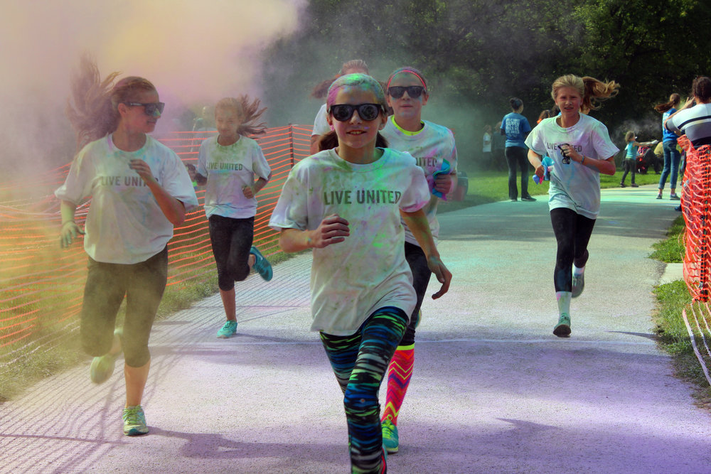 Community Colors Run   at Northwood University   Sept. 17, 2017