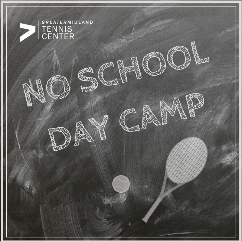 No school? No Problem! Drop the kids off with us and let them enjoy a fun filled day of tennis, sports, crafts and other activities. Lunch Provided!  To Sign Up Online  Click Here !  Or Call 989-631-6151