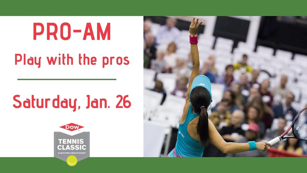 Dow Tennis Classic - Pro-Am