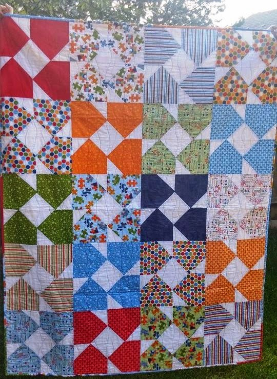 http://www.ebay.co.uk/itm/Unique-handmade-patchwork-quilt-beautiful-quality-/321501820293?