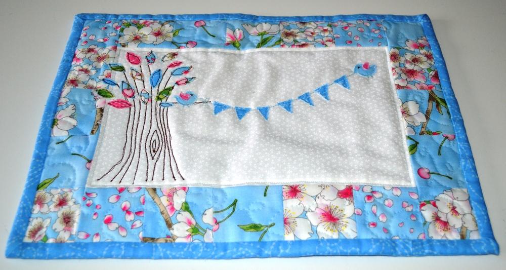 Blue Birdy Quilt