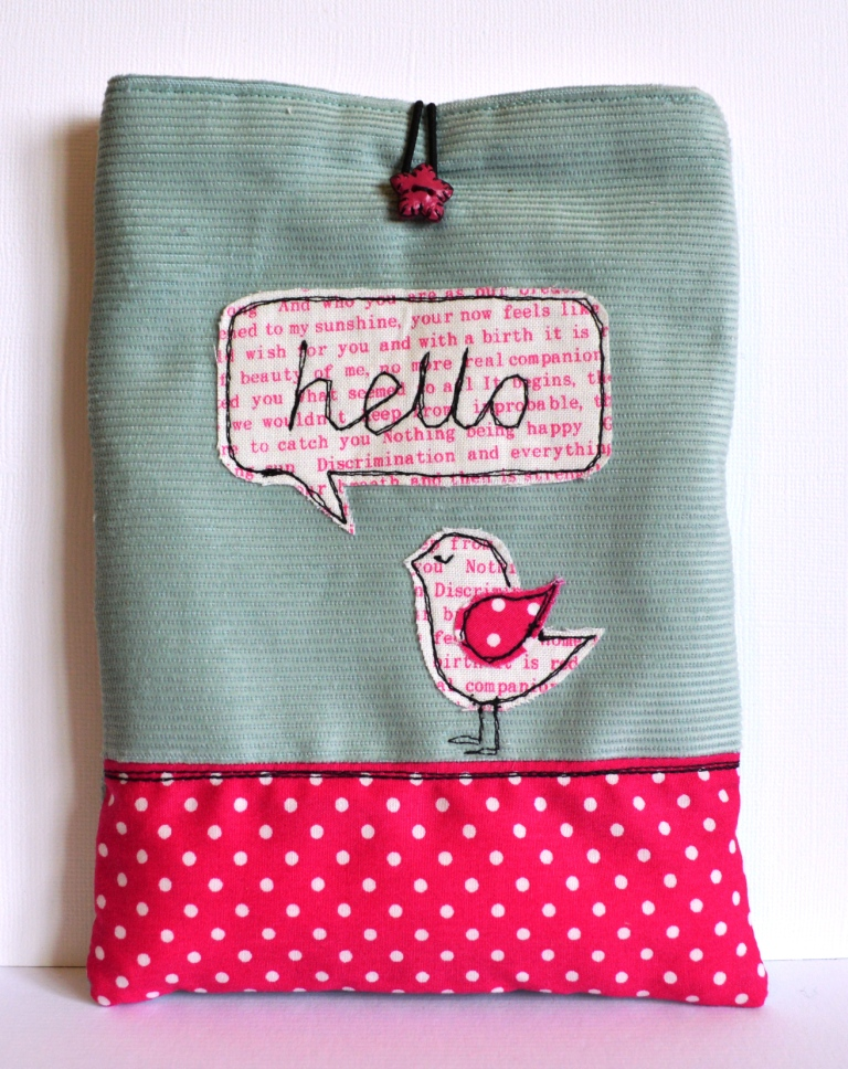 Hello Birdy Kindle Case
