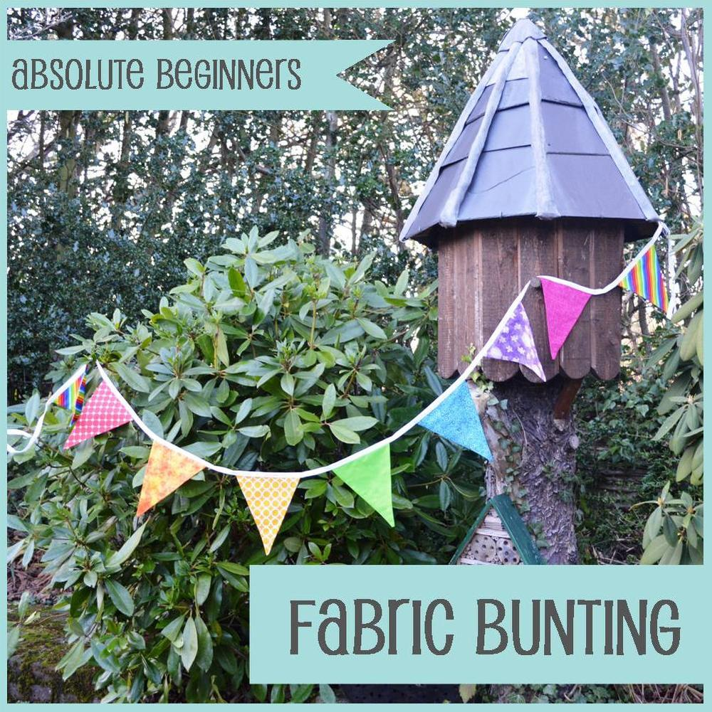 The Crafty Nomad Sewing Class Bunting
