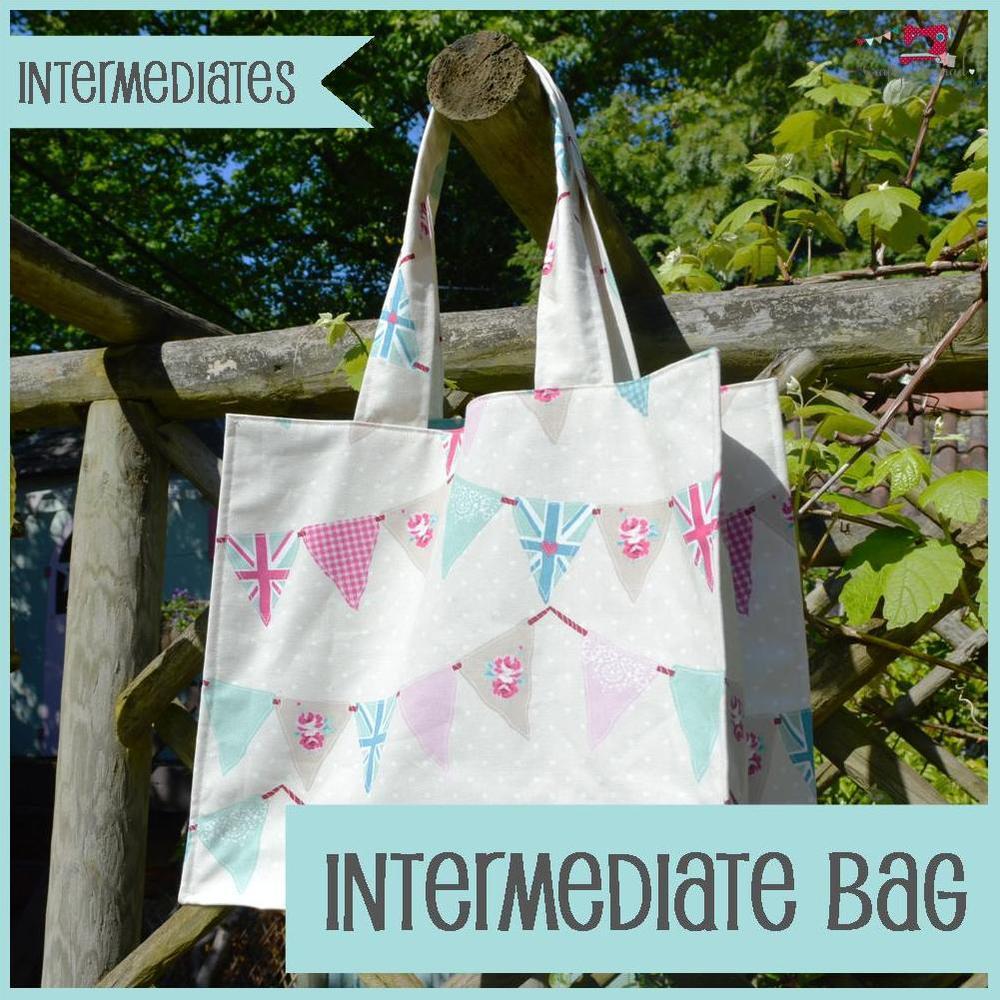 The Crafty Nomad Sewing Class Intermediate Shopping Bag - Intermediate